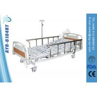 China Multi-function Full Electric Hospital Bed With Aluminum Side Rails on sale
