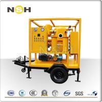 Best Double - Stage Transformer Oil Purification Machine For Dehydration , Degassing wholesale