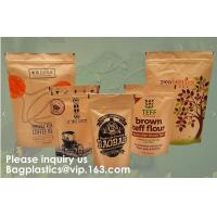 China STAND UP POUCHES SPOUT POUCHES SIDE GUSSET BAGS PAPER BAGS 3 SIDE SEAL POUCH BLOCK BOTTOM BAGS JERKY BAGS BIODEGRADABLE on sale