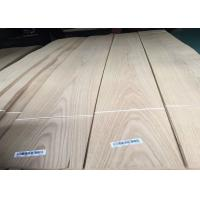 Buy cheap Natural American Whtie Oak Crown Cut Wooden Sliced Veneer With AAA Grade from wholesalers