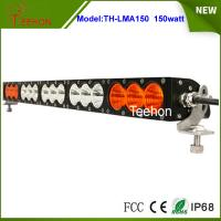 Best 27.2 inch 150W CREE LED light bar single row in optional spot/flood/combo beam type wholesale