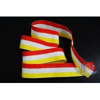 China Fashional Design Custom Award Ribbons , Medal Neck Red/White/Yellow Ribbons on sale