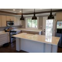 Best  Style Nano Glass Countertop With Kitchen Cabinet , Glass Stone Countertops wholesale