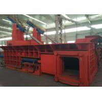 Best 200t dual drive hydraulic pressing scrap steel baling PLC control automatic baler wholesale
