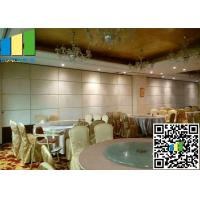 Best 65mm Thickness Sound Insulation Fabric Panels Folding Partition Wall wholesale