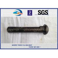 Best Q235 40Cr HS26 / HS32 Railway Bolt Track Bolts With Bitumen / Dacromet wholesale