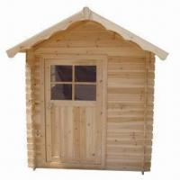 China Garden Shed House, Made of Solid Wood and More, Measuring 180 x 142 x 166cm on sale