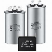 China Power capacitors for air conditioner compressor and halogen lamp on sale