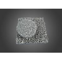 China Round Silicon Carbide Ceramic , Square Honeycomb Sic Ceramic Foam Filter on sale