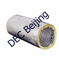 Buy cheap Fiberglass wool insulated flexible air duct thermal insulated ducting product
