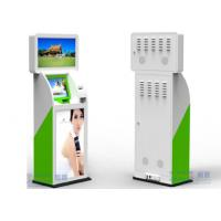 China UPS Windows XP Customer Service Kiosk 32 / 42 Dual LED / LCD Adverti For Finance on sale