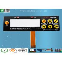 Best Embossing FPC Membrane Switch Keypad / SMT Led Membrane Push Button Switch wholesale
