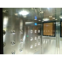 GMP Automatic Pharmaceutical Class 1000 Air Shower Clean Room 50 - 100 Personal