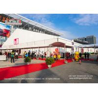 China Aluminum PVC Instant Installation and Movable Clear Span Tents Structure for Outdoor Exhibition on sale