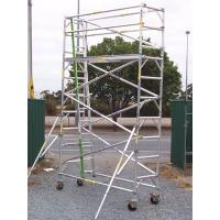 Best Outdoor Lightweight Wheels Aluminium Mobile Scaffold For Cleaning Gutters wholesale