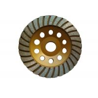 China Customized 125mm Grinding Wheel / Concrete Floor Grinding Disc Aggressive Grinding on sale