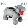 Buy cheap Sibo Stuffed Elephant Animals Rides Battery Walking Toys Motorized Animals Rides from wholesalers