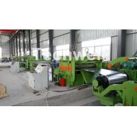 China Steel Metal Cut To Length Line High Precision For Cutting Coil Into Required Length on sale