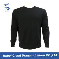 Best Custom Long Sleeve Security Guard Shirts / Duty Security Guard Sweater 55%Acrylic 45%Cotton wholesale