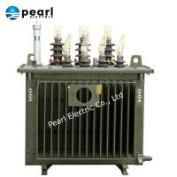 Buy cheap 1000kVA Oil Immersed Distribution Transformer , Power Oil Transformer from wholesalers