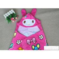 Best Lightweight Convenient Hooded Poncho Towels Breathable Lovely 60*120cm wholesale