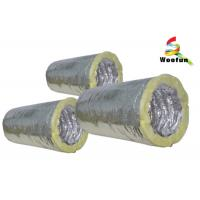 Best Fiberglass Insulated Flexible Ducting for Air Conditioning System Customized Sizes wholesale