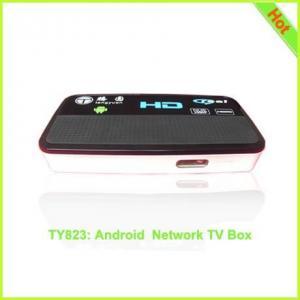 TY823: google android tv box hd media player V6