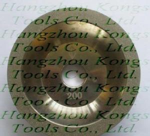 Best Electroplated diamond grinding wheel/cup wheel wholesale