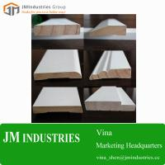 Best Wood Home Building Material-wooden moulding profile white primed moulding Manufacturer wholesale