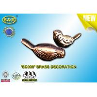 China No BD009 Brass Tombstone Yard Decorations Bird Pair Shape Material Copper Alloy on sale