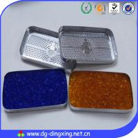 China Silica gel  with color indicator desiccant canister on sale