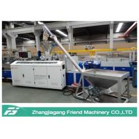China Environmental Protection WPC Board Production Line Conical Twin Screw Extruder on sale