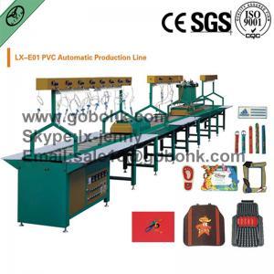China Automatic PVC logo making machine PVC label production line on sale