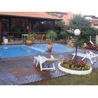 Cheap High-end Garden Outdoor IPE Decking Tiles for Hotel or Private Swimming Pools for sale