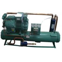 Best 4HE-25Y 25HP Water Cooled Condensing Units , Freezer Condenser Unit High Efficiency Tube Heat Exchanger wholesale
