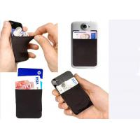 Best OEM Fashion Silicone Gift Credit Card Holder For Cell Phone / Mobile Phone wholesale