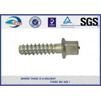 Buy cheap ASTM Standard Hot Dip Galvanized Railway Sleeper Fixing Screws / Rail Road Spikes product