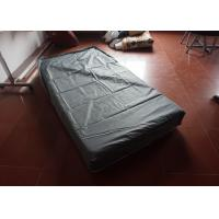 China Polyester Pvc Mattress Protector Zippered / Queen Size Mattress Protector on sale