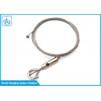 Best Quality Assured Wire Rope Light Fitting Suspension Kits With hook wholesale
