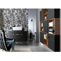 Cheap Riverstones Printing 3d Home brick effect wall covering For Saloon , Sound absorbing for sale