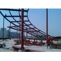 China High Rise Building Top Decoration Steel  Structure Construction on sale