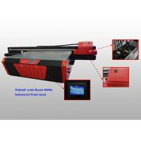 China Digital Flatbed UV Glass Printer With Ricoh GEN5 Industrial Print Head on sale
