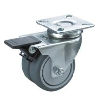 Best twin wheels caster with brake wholesale