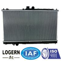 China 1996 Mitsubishi Lancer Radiator Replacement , Fin Tube Radiator 375*688*16mm Core on sale
