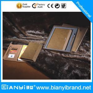 Best Loose leaf notebook  gift set for business partner wholesale