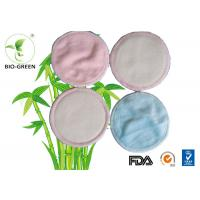 Best Round Organic Bamboo Breast Pads Absorb Microfiber Materials Founded wholesale