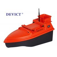Fishing DEVICT bait boat DEVC-102 orange remote control 4 class Wave Resistance