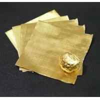 Best Pure chocolate aluminum foil wrappers , gold foil wrapped chocolates Soft Temper wholesale