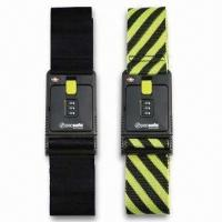 Best Black/Yellow Luggage Straps/Belts, Available in Various Types, OEM Order are Welcome wholesale