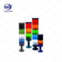Best 70mm Waterproof Led Signal Tower Light 4 Layer Liyy With Pvc Wire Material wholesale